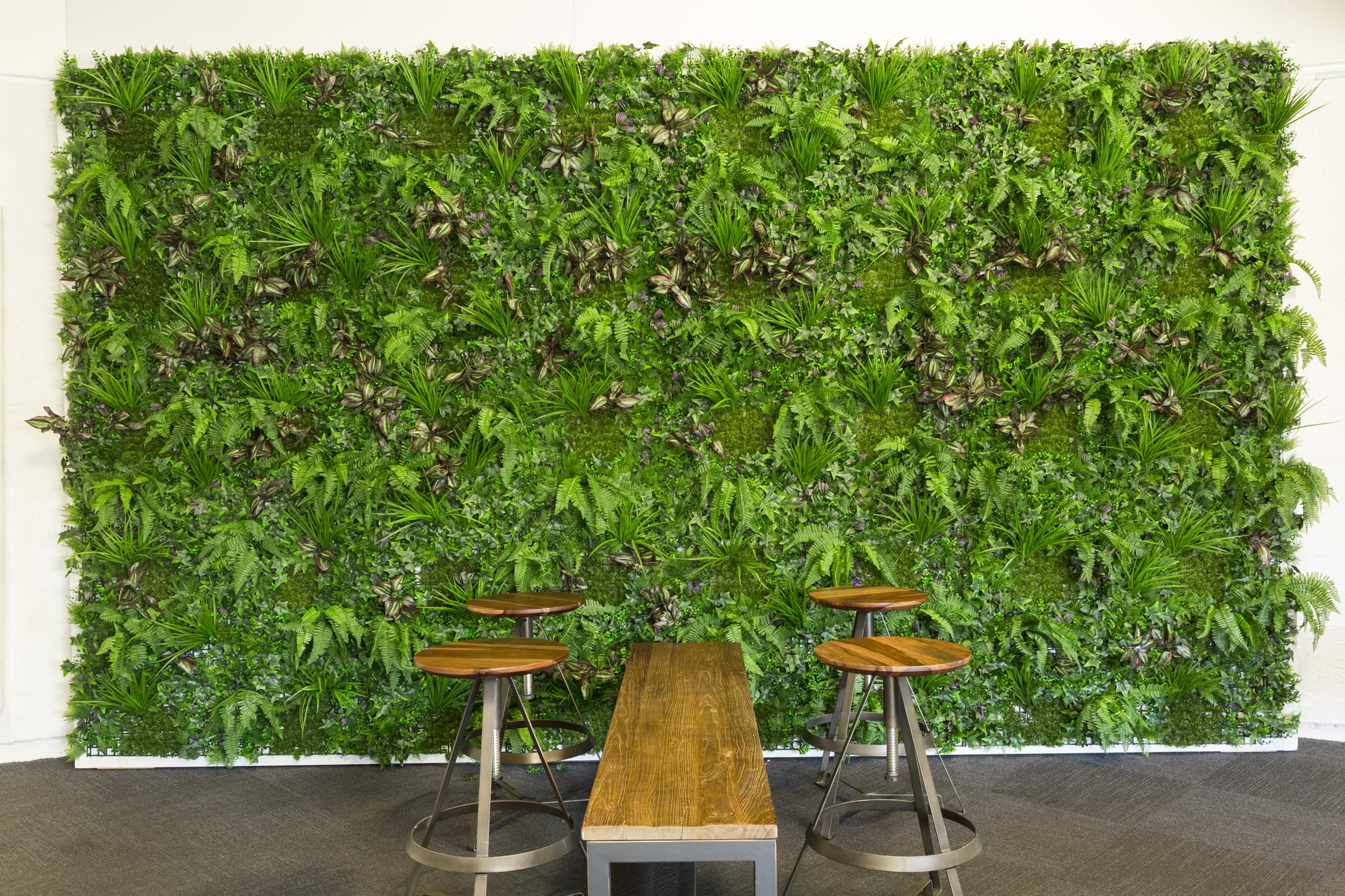Artificial Vertical Garden – Artificial Hedges